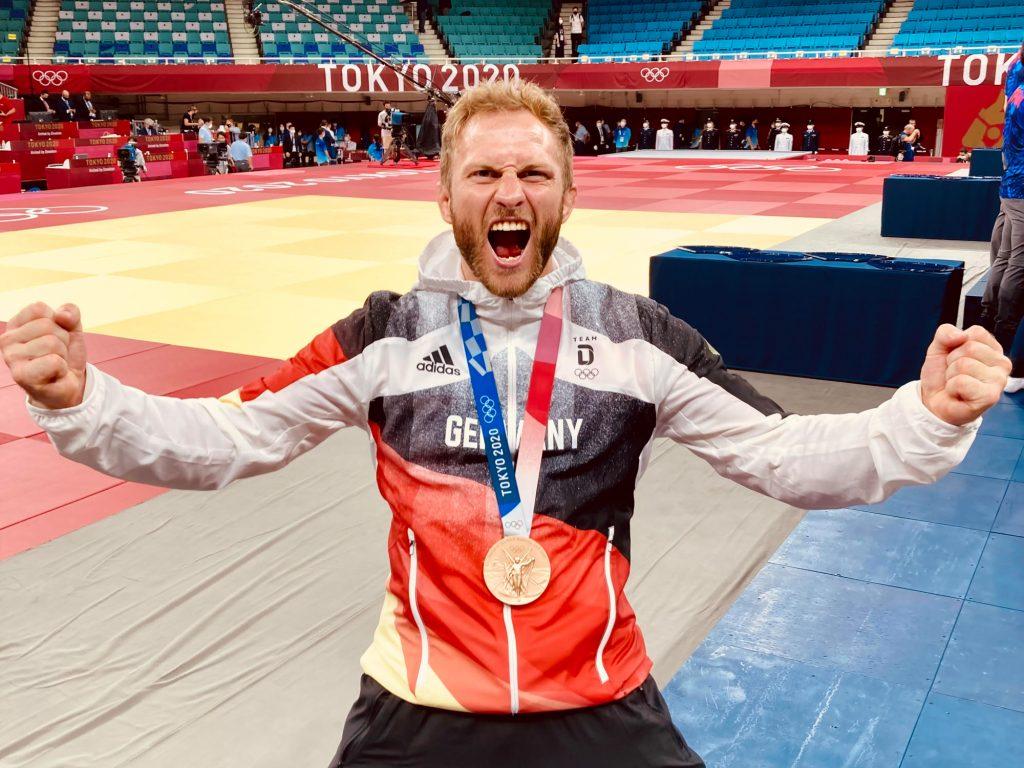 Sebastian Seidl bei den Olympischen Spielen 2020 in Tokio