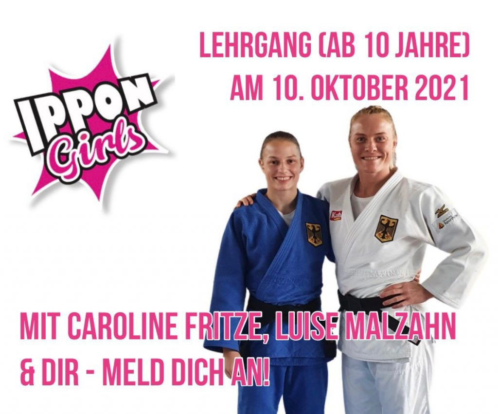 Ippon Girls mit Caroline Fritze, Luise Malzahn und Dir - Meld Dich an!